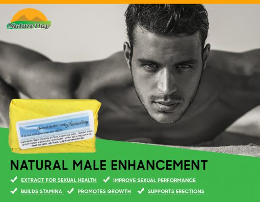 Natural Male Enhancement Soap